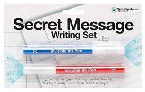 NPW stylos à encre invisible avec lumière UV kit–croquis et couleur Secret Message de correspondance de la marque NPW image 0 produit