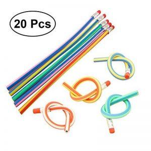 NUOLUX 20pcs Crayons à papier Flexible avec gomme de la marque NUOLUX image 0 produit