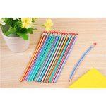 NUOLUX 20pcs Crayons à papier Flexible avec gomme de la marque NUOLUX image 4 produit