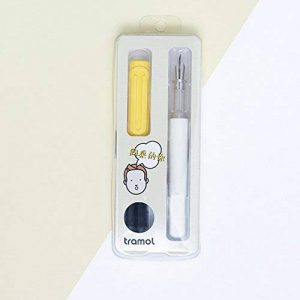 Ocamo étudiants Pratiquer l'écriture Stylo plume Ensemble écriture Outil comme officier de Student papeterie Cadeau, jaune clair, 0.38-0.45mm de la marque Ocamo image 0 produit
