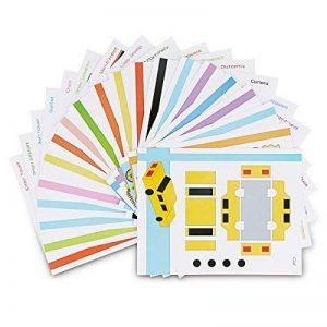 ohCome 20Pcs 3D Papier Modèles pour Enfants Adultes Jeux en Pratique de 3D Doodling Peinture Dessin,Peut être utilisé à plusieurs reprises. de la marque ohCome image 0 produit