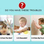 ommda Étui lavable Crayon couleur cire fois Craie Eau Avec la rotation Design 6différentes couleurs naturelle, non toxique, sans danger pour les bébés, et les enfants de la marque Ommda image 1 produit
