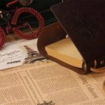 Ordinateur portable rechargeable Journal en cuir avec papier spécial Feather Marque-page et stylo à bille, non doublé de voyage Agenda Jotter, faite à la main doux rustique Carnet de notes en cuir, vintage Art croquis, Vapeur Punk Coque Motif pour cadeau image 4 produit