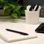 Original Xiaomi Mi Pen kaco shuyuan Lot de 6recharges de stylo gel Noir/blanc 0,5mm ABS Plastique Stylo bille Lot de 10 noir de la marque image 2 produit