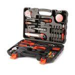 Outad 45 Pcs Kit Coffret d'outils ,Home Repair Tool Kit, Kit Outils de Main multifonction et universel Mallette à outils Boîte à Outils pour jardin Maison réparation Maintenance de la marque OUTAD image 2 produit