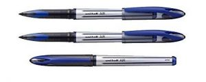 Pack lot de 3 stylos roller uni ball roller Air Bleu 0,7 mm de la marque Uni-ball Mitsubishi Pencil image 0 produit