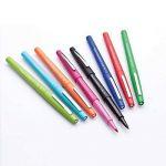 Paper Mate Flair stylos feutre, pointe moyenne, couleurs tropicales et assorties, lot de 12 de la marque Papermate image 1 produit