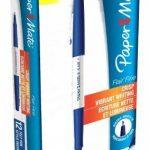 Papermate Flair Fine Feutre Stylo Pointe Fine Bleu- Lot de 12 de la marque Papermate image 1 produit