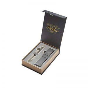 PARKER Coffret-cadeau collection britannique, stylo-bille Sonnet et étui, acier inoxydable CT (1978403) de la marque Parker image 0 produit