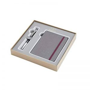 Parker Coffret-cadeau collection britannique, stylo-bille Urban et carnet, Premium ébène Métallique CT de la marque Parker image 0 produit