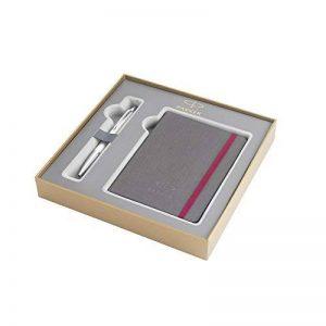 Parker Coffret-cadeau collection britannique, stylo-bille Urban et carnet, Premium Perle Métallique CT de la marque Parker image 0 produit