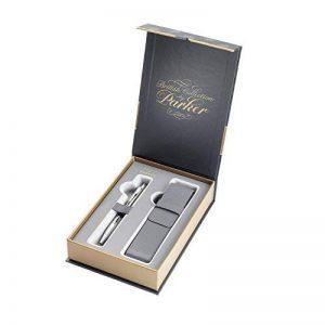Parker Coffret-cadeau Collection britannique, stylo-bille Urban et étui, Premium Noir mat de la marque Parker image 0 produit