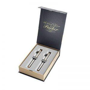 Parker Coffret-cadeau collection britannique, stylo-plume et stylo-bille IM, Métal Brossé GT de la marque Parker image 0 produit