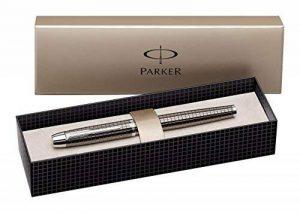 Parker IM Premium CT Stylo-plume Pointe Fine Métal Ciselé de la marque Parker image 0 produit