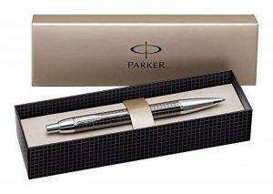 Parker IM Premium Stylo-bille Pointe Moyenne Attributs Chromés Gun Métal Ciselé [Ancien Modèle] de la marque Parker image 0 produit