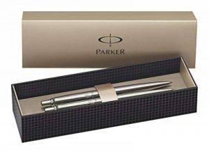 Parker Jotter CT Stylo-bille rétractable + Portemine 0,5 HB Acier de la marque Parker image 0 produit