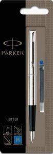 Parker Jotter CT Stylo-plume Pointe Moyenne Acier [Ancien Modèle] de la marque Parker image 0 produit