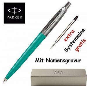 Parker Jotter Stylo bille gravé K 60–Coffret cadeau inclus Turquoise de la marque Parker image 0 produit