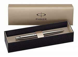 Parker Jotter Stylo-bille Pointe Moyenne Attributs Chromés Acier Massif [Ancien Modèle] de la marque Parker image 0 produit