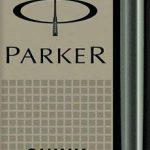 PARKER Lot de 4 Etui de 5 cartouches longues QUINK encre noir de la marque Parker image 1 produit