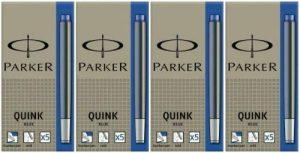 Parker Quink Cartouches d'encre Bleu x 20(4x 5) de la marque Parker image 0 produit