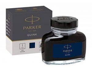 Parker Quink Flacon d'encre 57 ml Bleu/Noir de la marque Parker image 0 produit