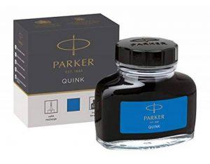 Parker Quink Flacon d'Encre Bleue Effaçable 57 ml de la marque Parker image 0 produit