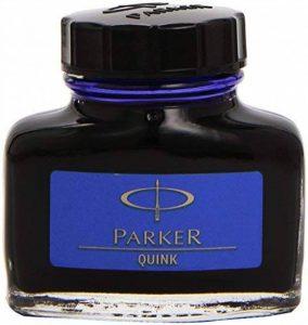 Parker Quink Flacon d'encre Effaçable 57 ml Bleu [Ancien Modèle] de la marque Parker image 0 produit