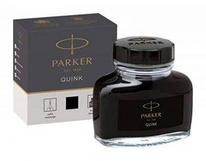 Parker Quink Flacon d'encre Noir 57 ml Noir [Ancien Modèle] de la marque Parker image 0 produit