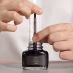Parker Quink Flacon d'encre Noir 57 ml Noir [Ancien Modèle] de la marque Parker image 2 produit
