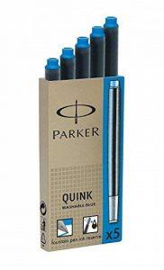 Parker Quink Ink Cartridges Blue Washable x 20 (4x5) de la marque Perker image 0 produit
