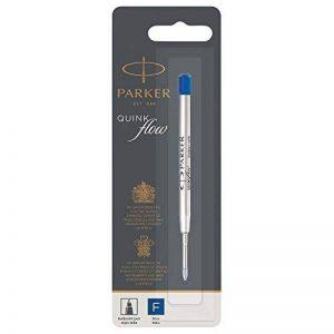 Parker Quink Recharge Encre Bleue Stylo Bille Pointe Fine de la marque Parker image 0 produit