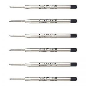 Parker Quinkflow recharge stylo à bille géant noir Recharge F 6 de la marque Parker image 0 produit