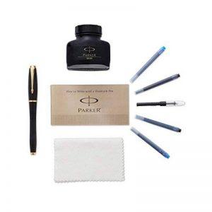 Parker Urban Premium Stylo avec boîte cadeau Set stylo plume Fountain Pen Kit Noir de la marque Parker image 0 produit