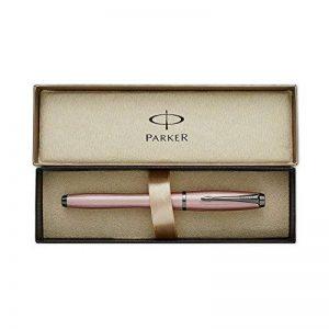 Parker Urban Premium Stylo plume Pointe Moyenne Attributs Chromés Rose métallique de la marque Parker image 0 produit