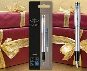 Parker Urban Stylo plume–en acier inoxydable Finition chromée de la marque Parker image 0 produit