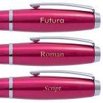 Parker Urban Stylo plume et stylo à bille Set–Mode Rose Garniture chromée en boîte cadeau spécial avec gravure personnalisée de la marque Parker image 4 produit