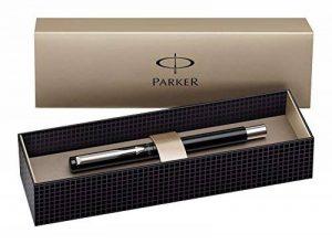 Parker Vector Spécial Stylo Plume Pointe Moyenne Attributs Chromés Noir [Ancien Modèle] de la marque Parker image 0 produit
