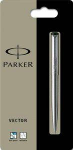 Parker Vector Stylo bille Pointe acier inoxydable moyenne (Import Royaume Uni) de la marque Parker image 0 produit