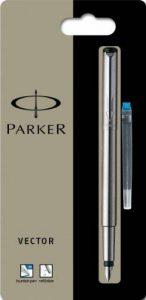 Parker Vector Stylo plume en acier inoxydable Pointe moyenne de la marque Parker image 0 produit