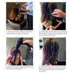 Peigne de cheveux Craie Dye Shimmer temporaire Cheveux Couleur crème 6couleurs de la marque BeeViuc image 3 produit