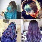 Peigne de cheveux Craie Dye Shimmer temporaire Cheveux Couleur crème 6couleurs de la marque BeeViuc image 4 produit