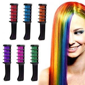 Peigne de craie pour cheveux,ANGTUO Couleur des cheveux temporaire DIY 6 PCS de la marque ANGTUO image 0 produit