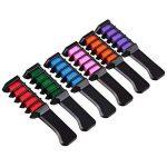 Peigne de craie pour cheveux,ANGTUO Couleur des cheveux temporaire DIY 6 PCS de la marque ANGTUO image 1 produit