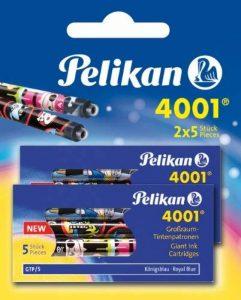 Pelikan 4001 Cartouches d'encre (Bleu roi) de la marque Pelikan image 0 produit