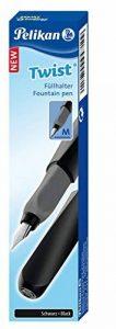 Pelikan 946806 twist-castell stylo-plume pour droitier ou gaucher noir plume m de la marque Pelikan image 0 produit