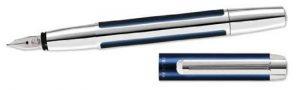 Pelikan 954958 Stylo plume à cartouche PURA P40 Pointe Fine Argent de la marque Pelikan image 0 produit