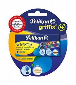 Pelikan Griffix 10 Cartouches illustrées encre Bleu Sport/Espace/Animaux pour Stylo plume/Autres modèles Pelikan de la marque Pelikan image 0 produit