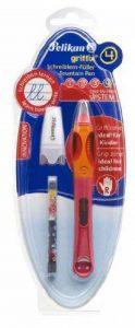 Pelikan Griffix Stylo plume ergonomique en plastique Rose Droitiers de la marque Pelikan image 0 produit