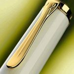 Pelikan Premium M400 Stylo-plume B Ecaille de tortue/Ivoire de la marque Pelikan image 1 produit